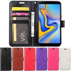 Mobil lommebok 3-kort Samsung Galaxy J6 Plus (SM-J610F)