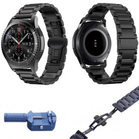 Armbånd RSF lås Samsung Gear S3 Frontier / Classic - svart
