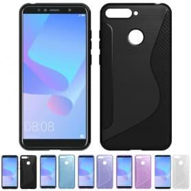 S Line silikonskall Huawei Y6 2018 mobil skall CaseOnline