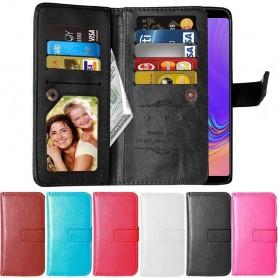 Double Flip Flexi 9-kort Samsung Galaxy A9 2018 (SM-A920F)
