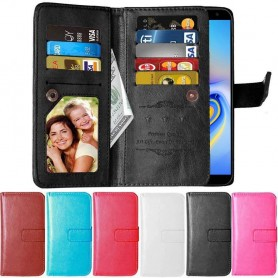 Dobbeltvipp Flexi 9-kort Samsung Galaxy J6 Plus (SM-J610F)