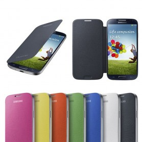 Mobiltelefon flip deksel til Samsung Galaxy S4