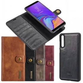 Mobil lommebok Magnetisk DG Ming Samsung Galaxy A7 2018 flyttbar mobil shell sag