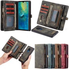 CaseMe Wallet 11 Card Huawei Mate 20 (HMA-L29) Magnetisk 2i1 Mobiltelefon Case Caseonline