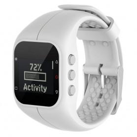Sport armbånd for Polar A300 watch armbånd - Hvit