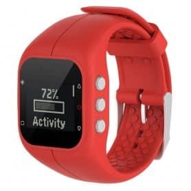 Sport armbånd for Polar A300 watch armbånd - Rød