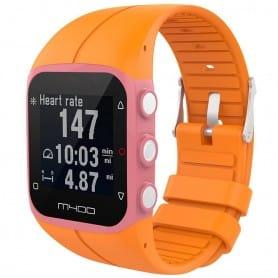 Sport armbånd for Polar M400 / M430HR - Orange