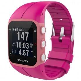 Sport armbånd for Polar M400 / M430HR - Mørk rosa