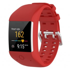 Sport armbånd for Polar M600 - Red