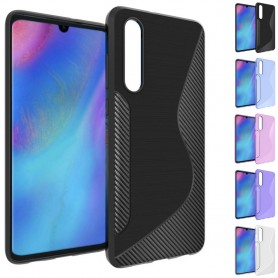 S Line silikonetui til Huawei P30 mobil beskyttelses beskyttelsesetui