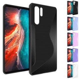 S Line silikonetui til Huawei P30 Pro mobiltelefon beskyttelsesetui caseonline