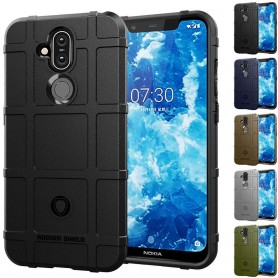 Mobile Phone Rugged Shield shell Nokia 8,1 (TA-1128) beskyttelse caseonline