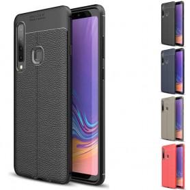 Lærmønstret mobilskall TPU-skall Samsung Galaxy A9 2018 (SM-A920F)