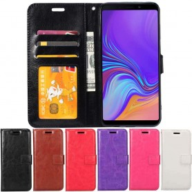 Mobil lommebok 3-kort Samsung Galaxy A9 2018 (SM-A920F) mobildeksel