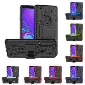 Slagbestandig skall med stativ Samsung Galaxy A9 2018 (SM-A920F) mobilskall silikonskall caseonline