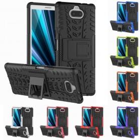 Slagbestandig skall med stativ Sony Xperia 10 Plus (I4213) mobil deksel silikon deksel caseonline
