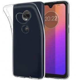 Silikonetui Gjennomsiktig Motorola Moto G7 (XT1962) beskyttelsesetui for mobiltelefoner