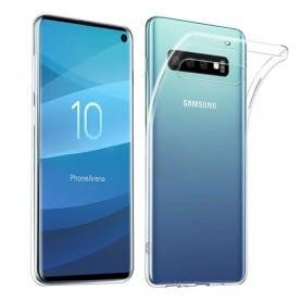 Mobiltelefon silikonetui Gjennomsiktig Samsung Galaxy S10 (SM-G973F)