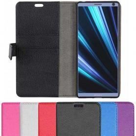 Mobil lommebok 2-kort Sony Xperia 10 Plus (i4213) beskyttelsesdeksel for mobil