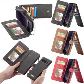 CaseMe lommebok-14-kort-Samsung- Galaxy -S10E-SM-G970F-etui-etui-shell-caseonline
