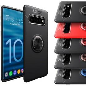 Slim Ring Veske Samsung Galaxy S10 Plus (SM-G975F) Mobiltelefon Veske