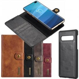 Mobil lommebok magnetisk DG Ming 2i1 Samsung Galaxy S10 Plus (SM-G975F) Mobiltelefon veske