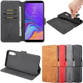 Mobil lommebok DG-Ming 3-kort Samsung Galaxy A7 2018 (SM-A750F) Mobiltelefon veske Caseonline
