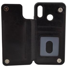Mobile Shell Business 3 Card Huawei P20 Lite (ANE-LX1) Deksel Caseonline Bakside