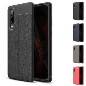 Lærmønstret TPU-skall Huawei P30 Lite (MAR-LX1) mobil etui