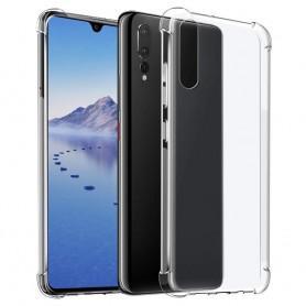 Shockproof silikonskall Huawei P30 Lite (MAR-LX1) mobil skall tpu gjennomsiktig caseonline