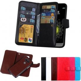 Mobil lommebok Dobbelt flip Magnet 2i1 LG G5 9-korts mobil shell caseonline