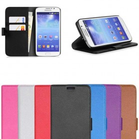 Samsung Galaxy Grand 2 Mobile Wallet 2 Card Case Cover