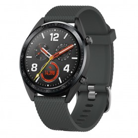 Sport Armbånd Huawei Watch GT / Magic / TicWatch Pro - Sort