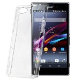Sony Xperia Z1 Compact silikon gjennomsiktig