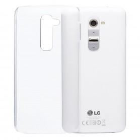 LG G2 silikon gjennomsiktig