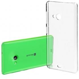 Microsoft Lumia 540 silikon må være gjennomsiktig