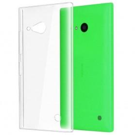 Nokia Lumia 730/735 silikon må være gjennomsiktig
