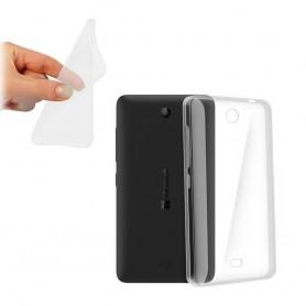 Microsoft Lumia 430 silikon må være gjennomsiktig