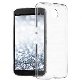 Nexus 6 silikon må være gjennomsiktig