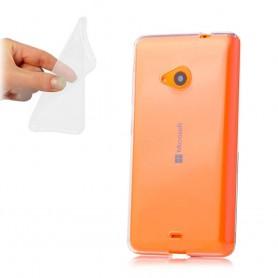 Microsoft Lumia 535 silikon må være gjennomsiktig