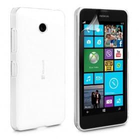 Microsoft Lumia 532 silikon må være gjennomsiktig