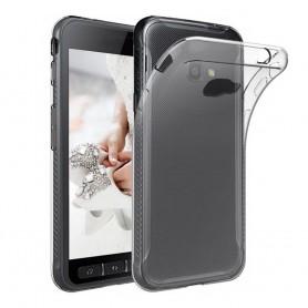 Samsung Galaxy Xcover 4 SM-G390F tynn silikonetui gjennomsiktig
