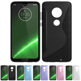 S Line silikonskall Motorola Moto G7 Plus (XT1965) mobil skall
