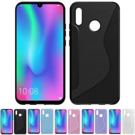 S Line silikonetui Huawei P30 Lite (MAR-LX1) Mobiltelefon beskyttelsesetui Caseonline veske