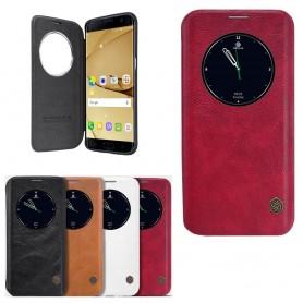 Nillkin Qin FlipCover Samsung Galaxy S7 Edge mobiltelefon veske