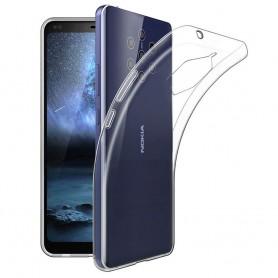 Silikonetui transparent Nokia 9 PureView (TA-1094)