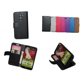 Lommebokdeksel 2-kort LG G2...