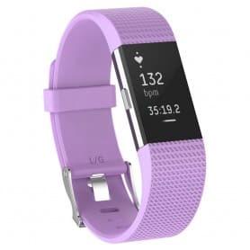 Sport armbånd for Fitbit Charge 2 - Violet
