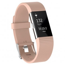 Sport armbånd for Fitbit Charge 2 - Vintage Rose
