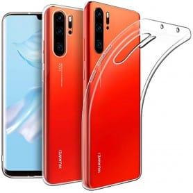 Silikonetui Gjennomsiktig Huawei P30 Pro mobil beskyttelsesdeksel caseonline